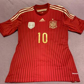 アディダス(adidas)のスペイン代表 ホームユニフォーム Mサイズ(ウェア)