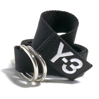 ワイスリー(Y-3)のY-3 Y3 ロゴ刺繍リングベルト Mサイズ(ベルト)
