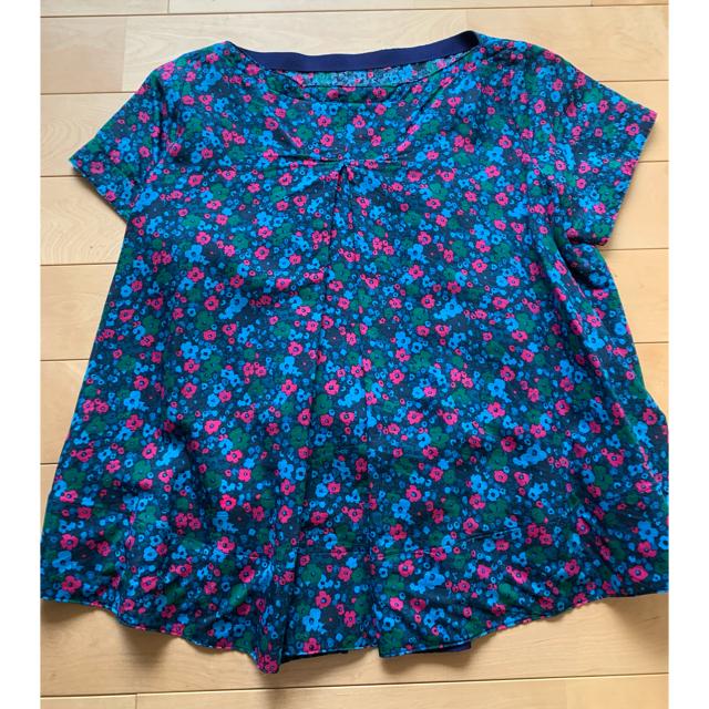 sacai luck(サカイラック)のsacai luck ☆ 花柄半袖シャツ レディースのトップス(シャツ/ブラウス(半袖/袖なし))の商品写真