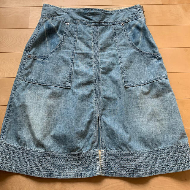 sacai luck(サカイラック)のsacai luck ☆ デニムスカート レディースのスカート(ひざ丈スカート)の商品写真