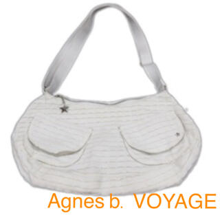Agnes b. VOYAGE フリル ミニショルダー バッグ スター スタッズ(ショルダーバッグ)