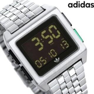 アディダス(adidas)のアディダス 腕時計 デジタル シルバー(腕時計(デジタル))