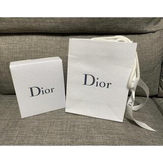 クリスチャンディオール(Christian Dior)のディオール ギフトボックス ショップ袋(ラッピング/包装)