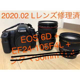 キヤノン(Canon)のキヤノンフルサイズ一眼レフEOS6D 標準ズームレンズセット(デジタル一眼)