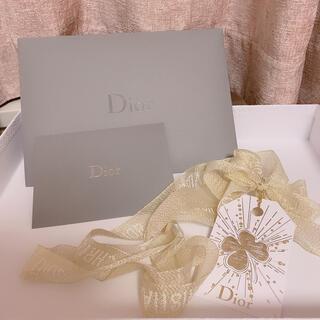 ディオール(Dior)のDior リボン メッセージカード 封筒(カード/レター/ラッピング)