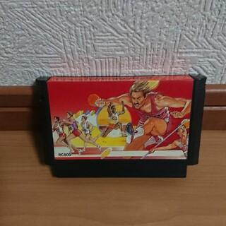 ファミコン カセット ハイパーオリンピック ソフト(家庭用ゲームソフト)