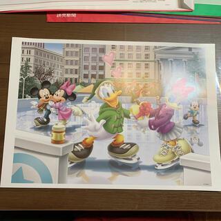 ディズニー(Disney)の非売品 ディズニー ドナルド デイジー ポスター(絵画/タペストリー)