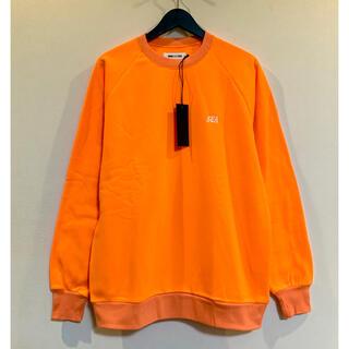 シー(SEA)のWIND AND SEA  SEA SWEAT SHIRT オレンジ(スウェット)