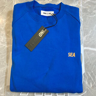 シー(SEA)のWIND AND SEA  SEA SWEAT SHIRT ブルー S(スウェット)