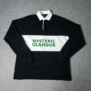 ヒステリックグラマー(HYSTERIC GLAMOUR)の●最終値下げ●HYSTERIC GLAMOUR ラガーシャツ(スウェット)