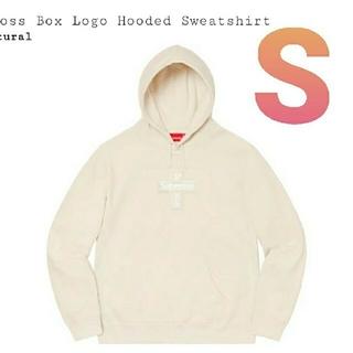 シュプリーム(Supreme)のCross Box Logo Hooded Sweatshirt  S(パーカー)