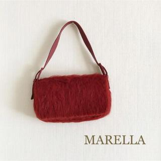 マックスマーラ(Max Mara)のイタリア製マレーラ アルパカファーバッグ(ハンドバッグ)
