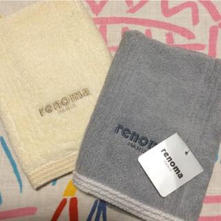 レノマ(RENOMA)のrenoma ハンドタオル 2枚(タオル/バス用品)