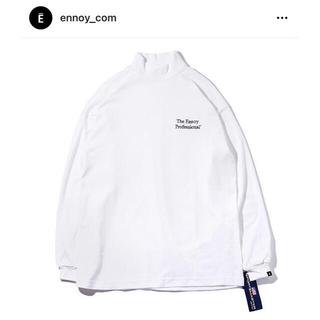 ワンエルディーケーセレクト(1LDK SELECT)のennoy MOCK NECK TEE WHITE XLサイズ(Tシャツ/カットソー(七分/長袖))