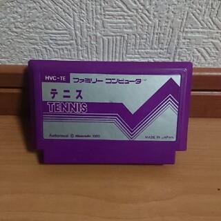 ファミコン カセット テニス ソフト (家庭用ゲームソフト)