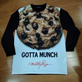 ミルクボーイ(MILKBOY)のミルクボーイ クッキーTシャツ 長袖 milk(Tシャツ/カットソー(七分/長袖))