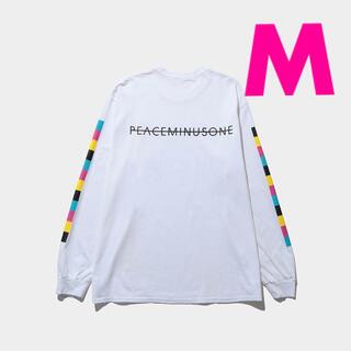 ピースマイナスワン(PEACEMINUSONE)の【白M】PMO PEACEMINUSONE THE CONVENI ロンT(Tシャツ/カットソー(七分/長袖))