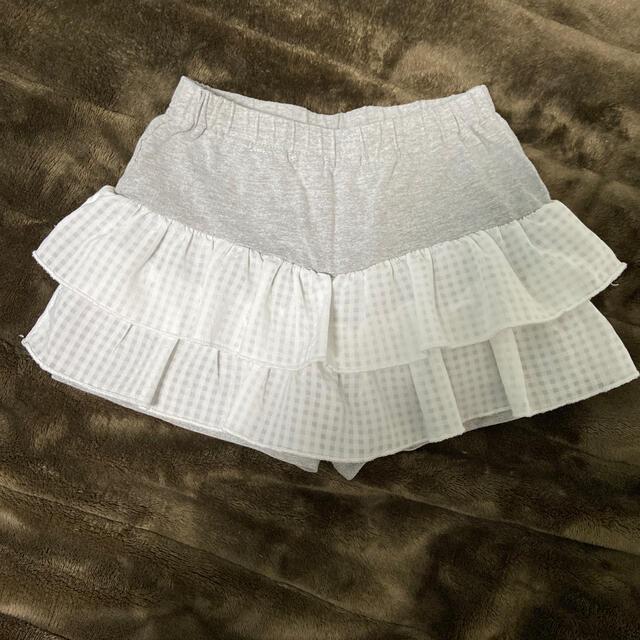 3can4on(サンカンシオン)の3can4on  ショートパンツ キュロット 110cm キッズ/ベビー/マタニティのキッズ服女の子用(90cm~)(パンツ/スパッツ)の商品写真