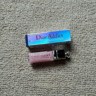 ディオール(Dior)のDior  アディクト リップマキシマイザー ミニ001(リップグロス)
