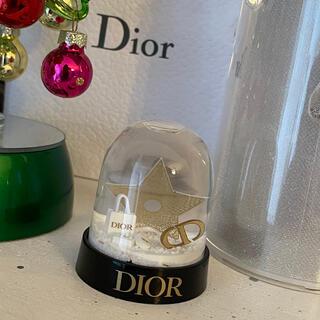 クリスチャンディオール(Christian Dior)のDIORスノードーム2020(置物)
