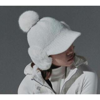 デサント(DESCENTE)の☆DESCENTE GOLF 韓国☆ 20winter 耳当て ボンボン帽子(その他)