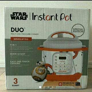 ウィリアムズソノマ(Williams-Sonoma)のInstant pot スターウォーズ star wars BB-8 新品(調理道具/製菓道具)