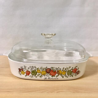 パイレックス(Pyrex)のオールドパイレックス スパイスオブライフシリーズ キャセロール鍋(鍋/フライパン)