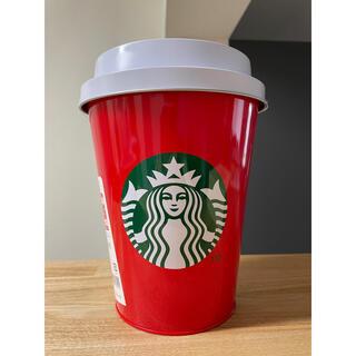 スターバックスコーヒー(Starbucks Coffee)のホリデー 2019 ビッグレッドカップ&ブランケット(ノベルティグッズ)