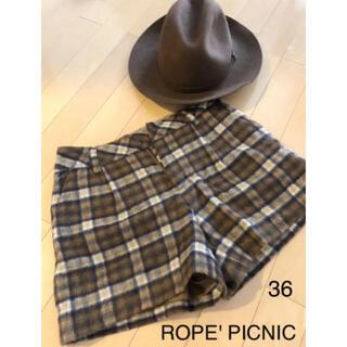 ロペピクニック(Rope' Picnic)のROPE' PICNIC❤︎フワモコショートパンツ(ショートパンツ)