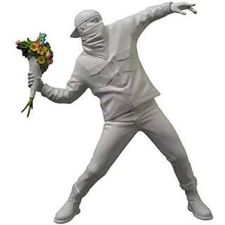 メディコムトイ(MEDICOM TOY)のバンクシー Flower Bomber 彫刻  メディコムトイ (彫刻/オブジェ)