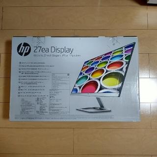 ヒューレットパッカード(HP)の【新品未開封】hp 27ea Display スピーカー内蔵モデル(ディスプレイ)
