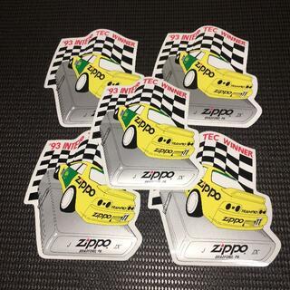ジッポー(ZIPPO)の【レア・非売品・入手困難】ZIPPO スカイライン ステッカー 5枚セット(ノベルティグッズ)