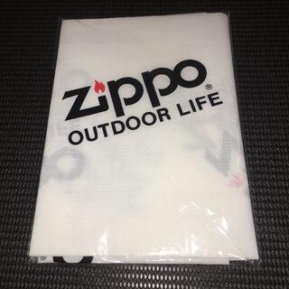 ジッポー(ZIPPO)の【レア・非売品・入手困難】ZIPPO レジャーシート(ノベルティグッズ)