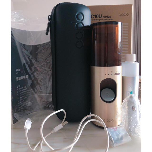BALMUDA(バルミューダ)のcado 加湿器 ピンクゴールド スマホ/家電/カメラの生活家電(加湿器/除湿機)の商品写真