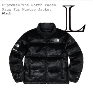 シュプリーム(Supreme)のsupreme the north face faux fur nuptse (ダウンジャケット)