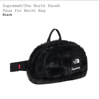 シュプリーム(Supreme)のsupreme the northface faux fur waist bag(ウエストポーチ)