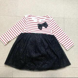 ベビーギャップ(babyGAP)のbaby gap ワンピース 新品 90cm チュールワンピース 定価¥4600(ワンピース)