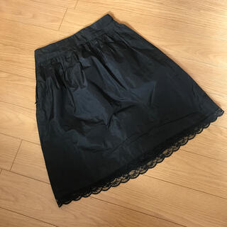 プライベートレーベル(PRIVATE LABEL)のプライベートレーベル private label 裾レース スカート(ミニスカート)