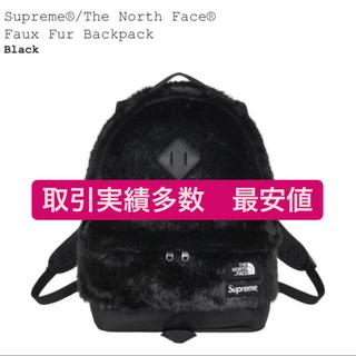 シュプリーム(Supreme)のsupreme the northface faux fur backpack (バッグパック/リュック)