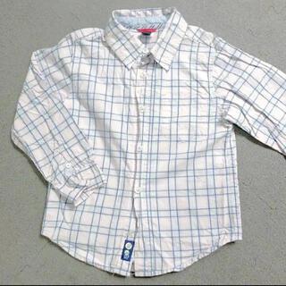 ベビーギャップ(babyGAP)のbaby gap チェックシャツ 110cm 美品 シャツ(ブラウス)