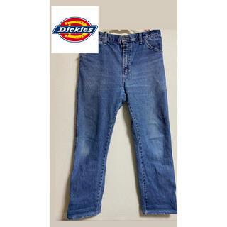 ディッキーズ(Dickies)の●ディッキーズ●ワークデニムパンツ 色落ちジーンズ ジーパン ワンポイントロゴ(デニム/ジーンズ)