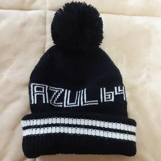 アズールバイマウジー(AZUL by moussy)のAZUL ニットビーニー(ニット帽/ビーニー)