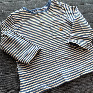 babyGAP - babyGAP GAP ベビーギャップ ロンT Tシャツ ボーダー ブルー 80