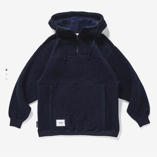 ダブルタップス(W)taps)のwtaps pine cone hooded fleece polartec(パーカー)