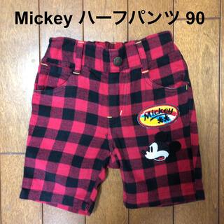 ディズニー(Disney)のDisney ミッキー ハーフパンツ 90(パンツ/スパッツ)