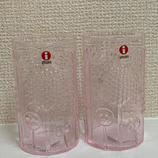 イッタラ(iittala)のイッタラフローラタンブラー(ペールピンク)2個セット(グラス/カップ)