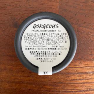 ラッシュ(LUSH)のLUSH ラッシュ☆ミスゴージャス 試供品(フェイスクリーム)