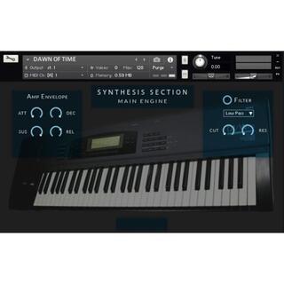 KORG 01/W FD シンセサイザー サンプリング KONTAKT音源(ソフトウェア音源)