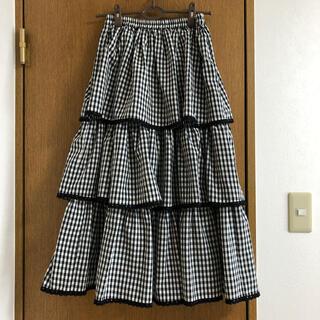 メリージェニー(merry jenny)のメリージェニー ティアードスカート(ロングスカート)