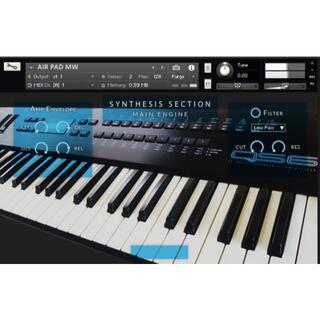 ALESIS シンセサイザー QS6 サンプリング KONTAKT音源 (ソフトウェア音源)